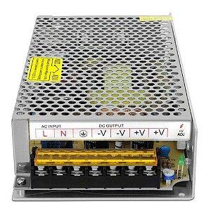 Fonte Chaveada 5A 24v 120W Bivolt Fita LED Som Automotivo