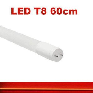 Lâmpada 10W 60cm LED Tubular T8  - Vermelha