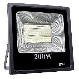 Refletor Holofote LED 200W SMD IP66 A prova D'Água Branco Quente 3000k