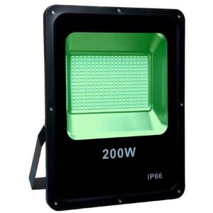 Refletor Holofote LED 200W SMD IP66 A prova D'Água Verde