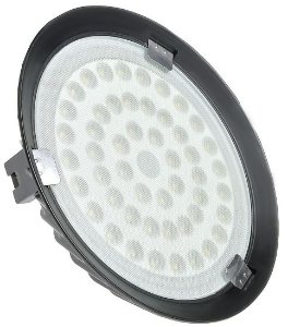 Luminária High Bay 50W LED UFO Industrial Branco Frio 6000k
