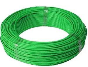 Cabo Energia 100 Mts Fio Elétrico Flexível 1,5mm Verde
