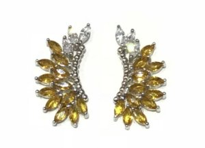 Brinco Ear Cuff Wings