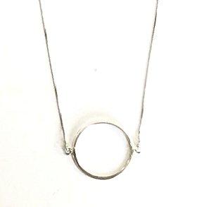 c20b316971e Colar em Prata 925 Círculo Aberto - Andreia Nogueira Jewelry - Joias ...