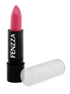 batom matte fosco Fenzza Make Up - cor rosa