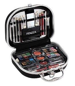 maleta de maquiagem Fenzza black