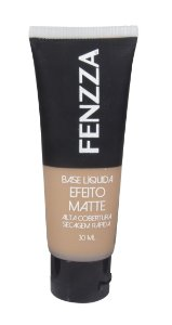 base líquida matte Fenzza Make Up - bege escuro