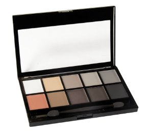 paleta de sombras matte 10 cores Fenzza Make Up