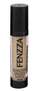 corretivo líquido matte Fenzza Make Up - c2 natural