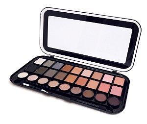 paleta 27 cores glamour Fenzza Make Up