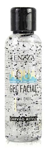 AQUA GEL FACIAL CARVÃO ATIVADO FENZZA MAKE UP