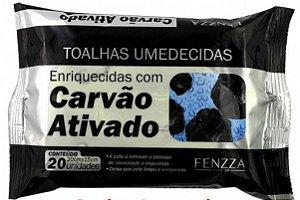 TOALHAS UMEDECIDA IMPORTADA CARVAO ATIVADO