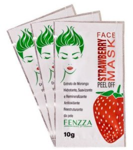 STRAWBERRY MASK  PEEL OFF FENZZA MAKE UP