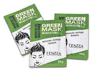 GREEN MASK GREEN FENZZA MAKE UP