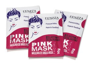 PINK MASK FENZZA MAKE UP