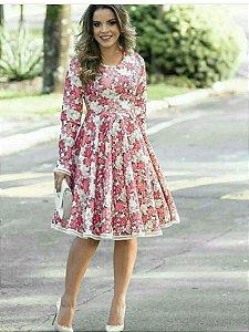 Vestido Estampas Florais