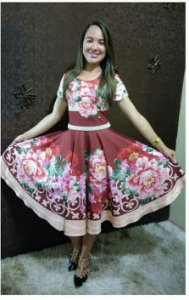 vestido Rosania