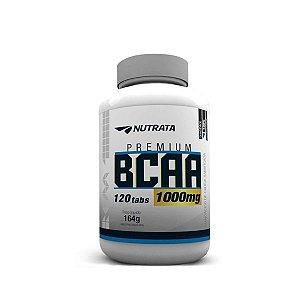 Bcaa 1g - Nutrata 60tabs - Dá Suporte ao Crescimento Muscular