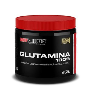 Glutamina 100% 500gr Body Builders