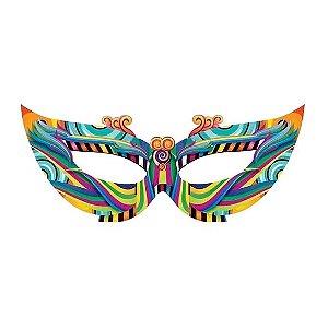 Enfeite Máscara Gigante de Carnaval | 1,5m
