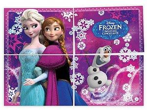 Painel Decorativo 4 Partes Frozen
