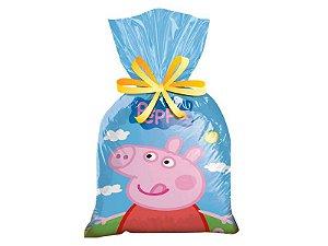 Sacolinha surpresa para festa Peppa Pig