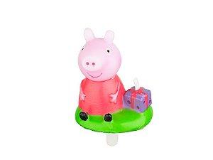 Vela de aniversário 3D Peppa Pig