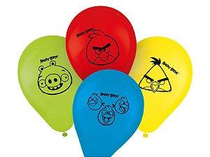 Balão / Bexiga Angry Birds Nº11 C/25