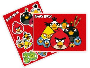 Kit decorativo painel Angry Birds