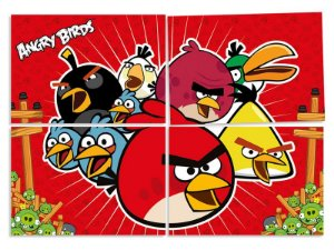 Painel decorativo festa Angry Birds