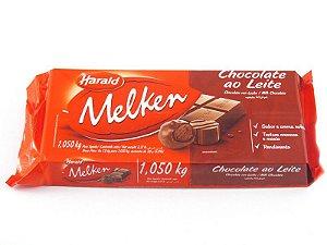 Barra de chocolate ao leite Melke 1,05 kg