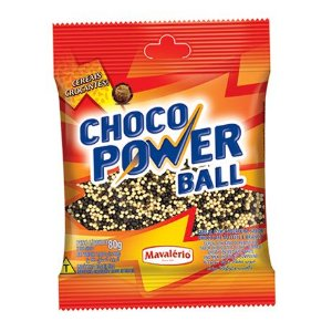 Cereal Choco Power Ball Micro ao Leite e Branco | 80g