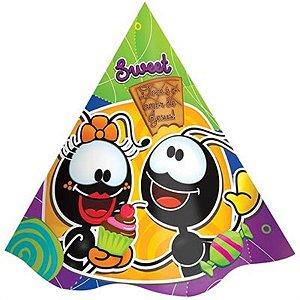 Chapéu festa de aniversário Smilinguido