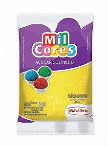 Açúcar colorido mil cores Mavalério 80g