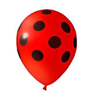 Balão N11 Happy Day Joaninha C/25