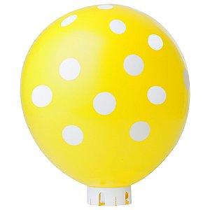 Balão / Bexiga Happy Day N11 Confete Amarelo C/25