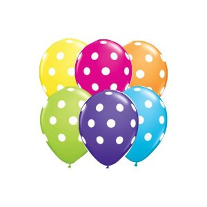 Balão / Bexiga Happy Day N11 Confete Sortido C/25