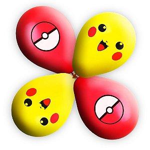 Balão / Bexiga Happy Day Poke Nº11 Sortido C/25