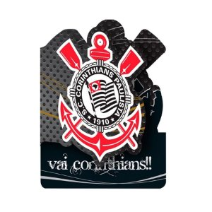 Convite Festa De Aniversário Corinthians C/8