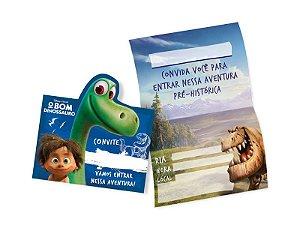 Convite O Bom Dinossauro | C/08