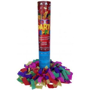 Lança Confete Party Popper 40 cm