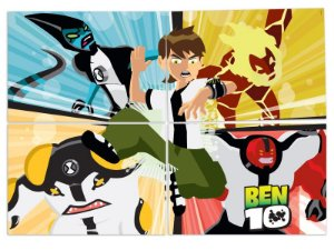Painel Decorativo Ben 10 Forever