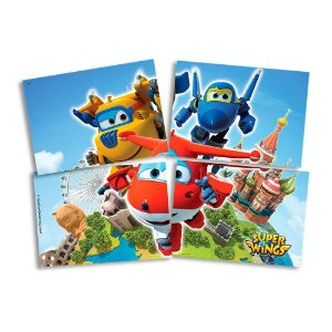 Painel Decorativo Super Wings