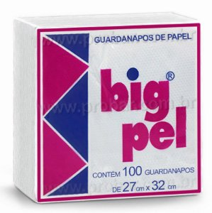 Guardanapo 27X32 big pel c/100