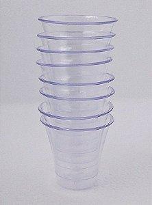 Copo acrílico  15 ml C/50 cristal