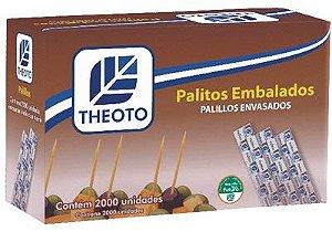 Palito dente caixa C/2000