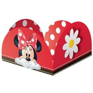 Porta Forminha Red Minnie C/50