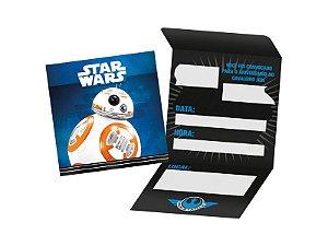 Convite De Festa De Aniversário Star Wars