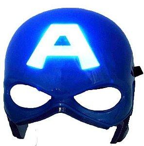 Máscara Capitão América Com Luzes