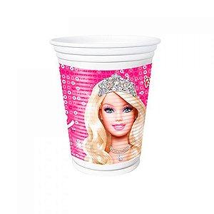 Copo Descartável Barbie Life180ml